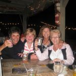 Ladies squad raise a toast at macky's