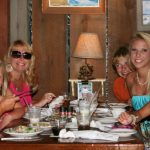 A family Smiles at Macky's Restaurant in Ocean City MD