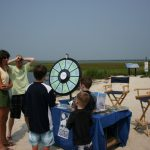 Spin for prizes at Macky's Seafood dining OCMD