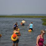 OC Bay Clamming and Outside dining Ocean City MD